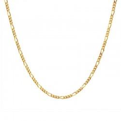Collar Amelie plata baño oro