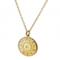 Gargantilla zodiac plata...