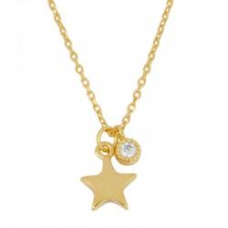 Collar Estrella May plata...