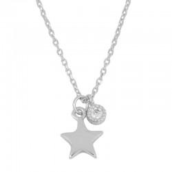 Collar Estrella May plata