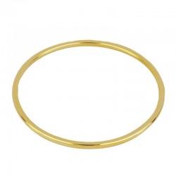 Pulsera Branzly plata baño oro