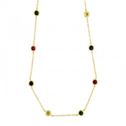 Collar Senna multicolor...