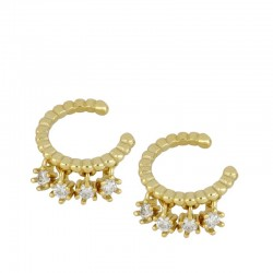 Pendiente Enlin ear cuff...