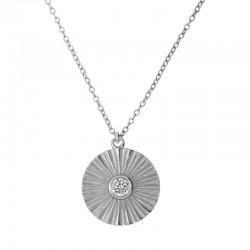 Collar Karima plata