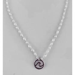 Collar Anyl plata