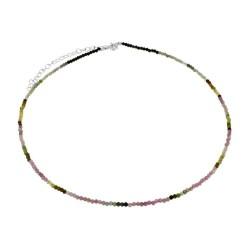 Collar Turmalina plata