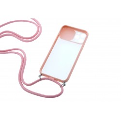 Funda Iphone rosa con...