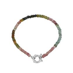 Pulsera Samil multicolor plata