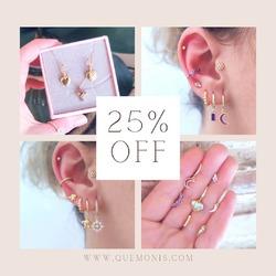 Todavía no te has enterado? TENEMOS TODA LA WEB CON UN 25% DE DESCUENTO 🎉  Hazte con tus joyas favoritas para éste verano 😉  www.quemonis.com  #quemonisjewelry #quemonis #jewelry #jewerlyblogger #joyasdeplata #joyas #regalosespeciales❤️️ #regalospersonalizados #regalosoriginales #regalos #descuentos #ofertas #rebajas #pendientes #anillos