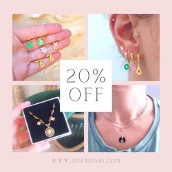 Todavía no te has enterado??🤪  TENÉIS TODA LA WEB CON UN 20% DE DESCUENTO 🥳  ULTIMOS DÍAS 🎉  www.quemonis.com  #jewelry #jewerlyblogger #joyasdeplata #joyería #joyas #descuentos