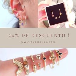 20% de DESCUENTO EN TODA LA WEB!🎉  Todavía no te has enterado?🤔 Hazte con tus joyas favoritas para éste verano con descuentazo!🥳  www.quemonis.com  #descuentos #ofertas #rebajas #quemonisjewelry #quemonis #jewelry #jewerlyblogger #joyasdeplata #joyas #regalosmama #regalosmujer #regalos #anillosdeplata #anillos #pendientesplata #pendientes #collares #pulseras