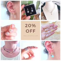 20% DE DESCUENTO EN TODA LA WEB 🥳  Date prisa y no te quedes sin tus joyas favoritas 🥰  www.quemonis.com  #joyasdeplata #joyería #joyas #jewelry #jewerlyblogger