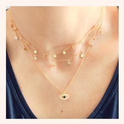 Cómo de bonita es ésta combinación de collares?❤️  Nos encantan😍  Y AHORA CON UN 20% DE DESCUENTO EN TODA LA WEB 🎉  www.quemonis.com  #quemonisjewelry #quemonis #jewelry #jewerlyblogger #joyasdeplata #joyas #regalosmama #regalos #regalosmujer #collaresdeplata #collares #descuentos #ofertas #rebajas
